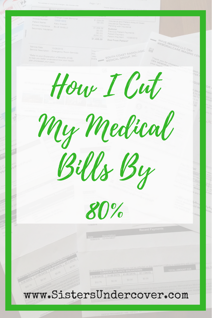 medical bills, cut your medical bills, save on hospital bills, chronic illness money, save money