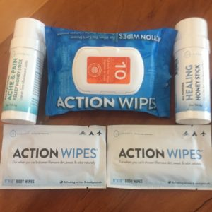 Action Wipes, Freshen Up on the Go, Clean travel,