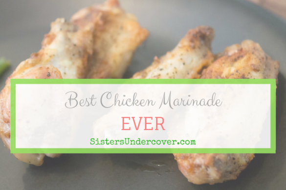 Paleo Chicken Marinade, 6 ingredients, gluten free, soy free, dairy free, sugar free, grain free