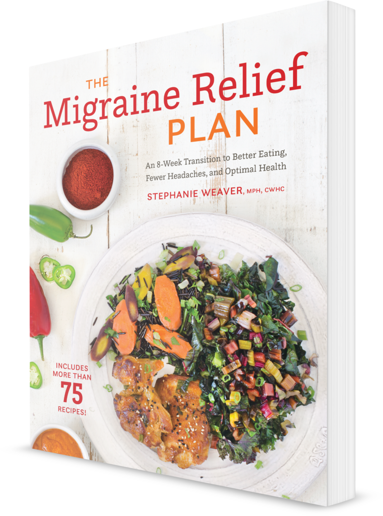 the migraine relief plan, stephanie weaver