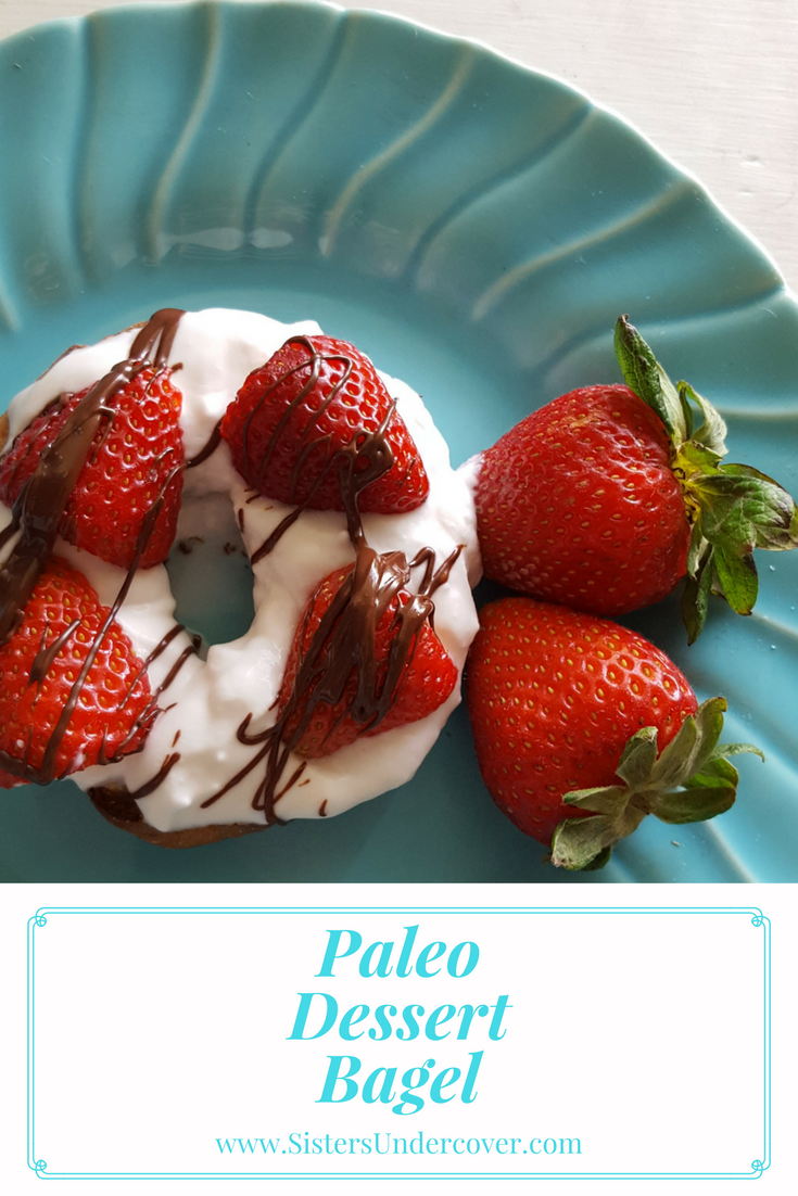 paleo dessert, paleo dessert bagel, paleo mother's day