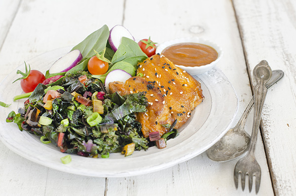 maple sesame glazed chicken, the migraine relief plan