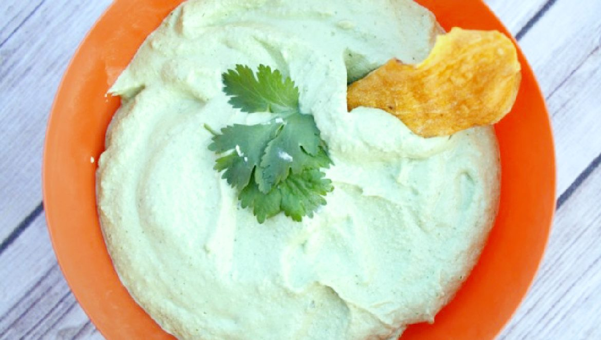 Avocado, Almond, Garlic, Cilantro Dip