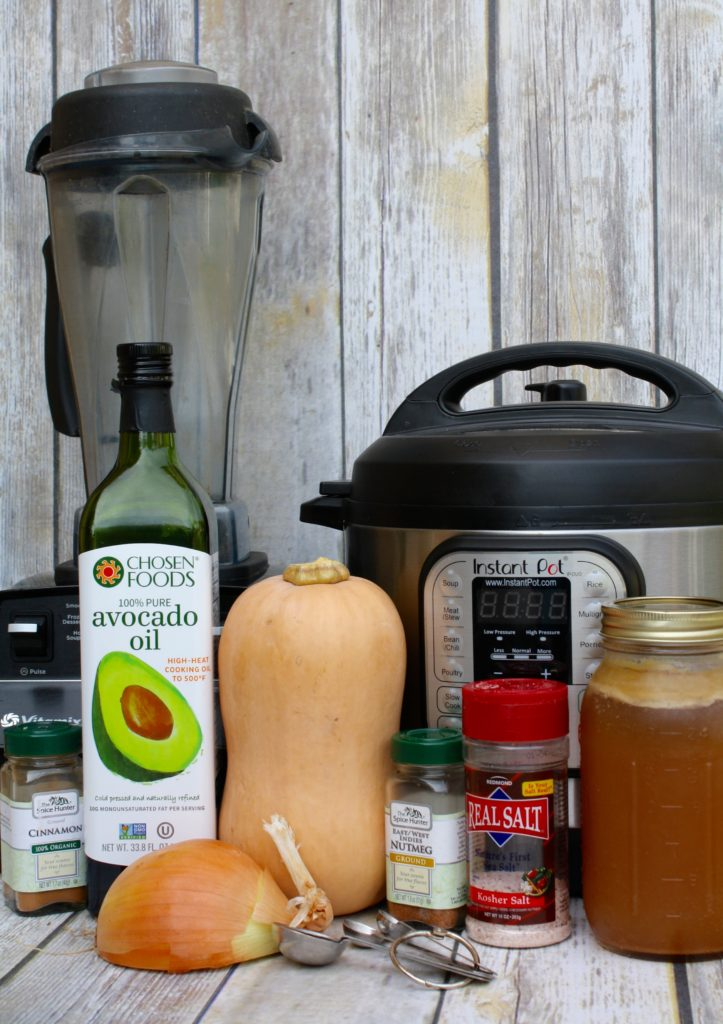 Everything you need for Butternut Squash Soup